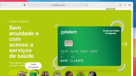 Site da Cetelem
