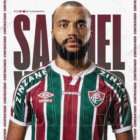 Caso jogue a primeira fase da Libertadores, o Fluminense não poderá contar com o lateral (Foto: Divulgação/Fluminense)