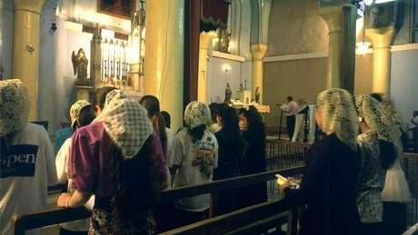 Existem cerca de 250 mil cristãos no Iraque