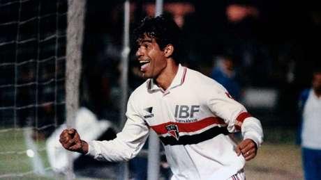 Raí comandou o São Paulo em goleada de 93 (Crédito: Reprodução)