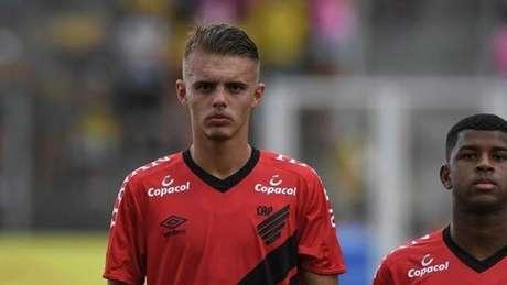 Defensor chegou ao clube em 2018 para as categorias de base (Fabio Wosniack/Athletico)
