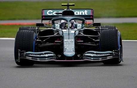 Sebastian Vettel está de casa nova em 2021