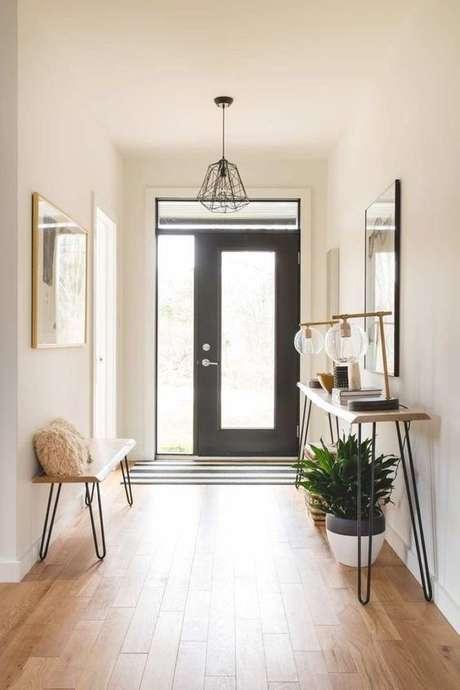 18. Aparador retro na entrada da casa – Foto Estilo