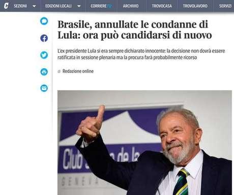 Imprensa internacional repercute decisão sobre Lula