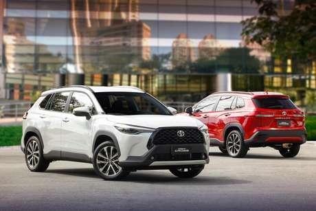 Toyota Corolla Cross: sucesso comercial no Brasil e nas exportações.
