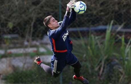Denis Júnior deve ser anunciado pelo Bahia nos próximos dias (Foto: Rubens Chiri / saopaulofc.net)