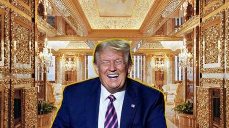 Tríplex de Trump tem cômodos tão amplos que ele frequentemente treinava tacadas de golpe entre os ambientes