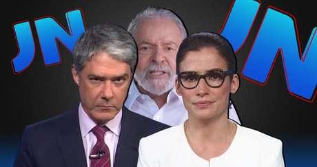O 'JN' de William Bonner e Renata Vasconcellos preferiu não repercutir as provocações de Lula
