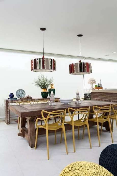 36. Mesa para varanda gourmet moderna – Foto Homify