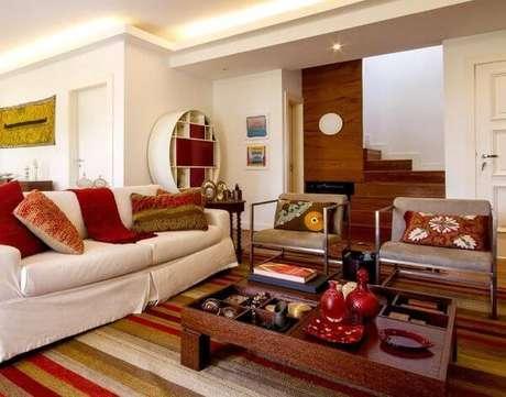 36. Capa de sofá para sala de estar – Foto Revista VD