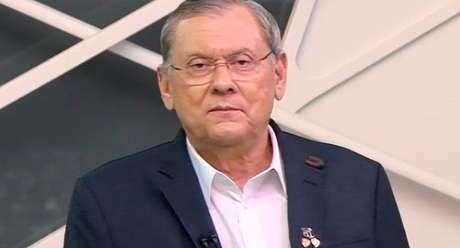 Milton Neves passou mal diante das câmeras após ler o relatório do rombo financeiro em sua empresa