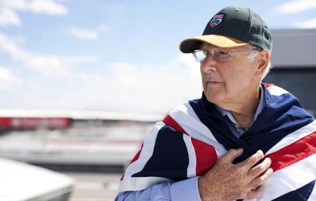 Murray Walker, uma das vozes mais conhecidas da Fórmula 1