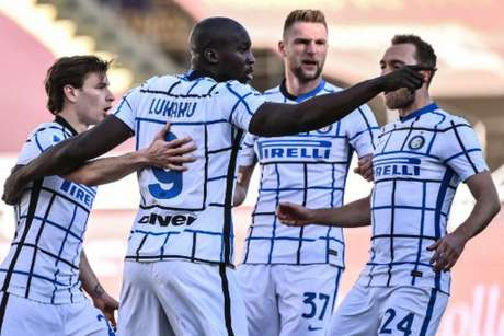 Lukaku abriu o placar e marcou seu 19º gol no Campeonato Italiano (MARCO BERTORELLO / AFP)