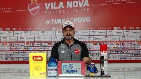 Wagner Lopes é o novo técnico do Vila Nova (Foto: Divulgação/Vila Nova F.C.)