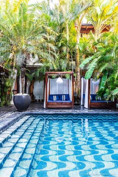 1. O azulejo para piscina 30×30 é um dos modelos que podem ser encontrados no mercado. Fonte: Pinterest