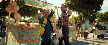 Edmilson Filho e Matheus Nachtergaele em Cabras da Peste