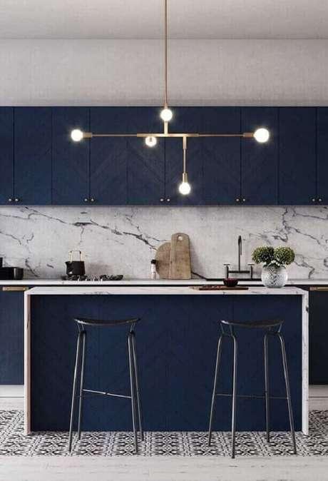 1. A luminária moderna pode ser o grande destaque da decoração do seu ambiente – Foto Houzz
