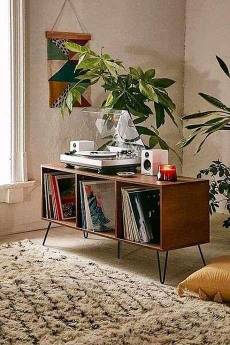 7. Rack pé palito com discos – Foto Pinterest