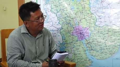 A BBC pediu às autoridades que ajudem a localizar Aung Thura