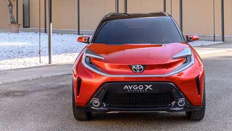 Aygo X já nasceu com o conceito de crossover ou mini SUV.