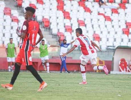 Timbu marcou seu gol por intermédio de Erick (Divulgação/Náutico)