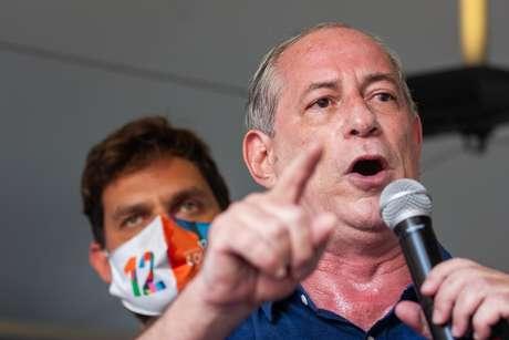 Ciro Gomes: 'Não vou deixar o Lula ganhar essa na lambança'