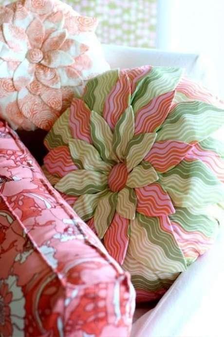 44. Tecido para almofada estampada – Foto Nicety