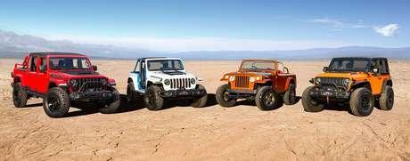 Realizado todos os anos desde 1967, o Easter Jeep Safari é uma oportunidade para a Jeep apresentar conceitos e testar modelos.