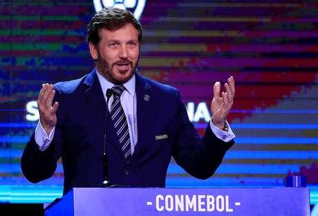 Presidente da Conmebol, Alejandro Domínguez   17/12/2019     REUTERS/Jorge Adorno
