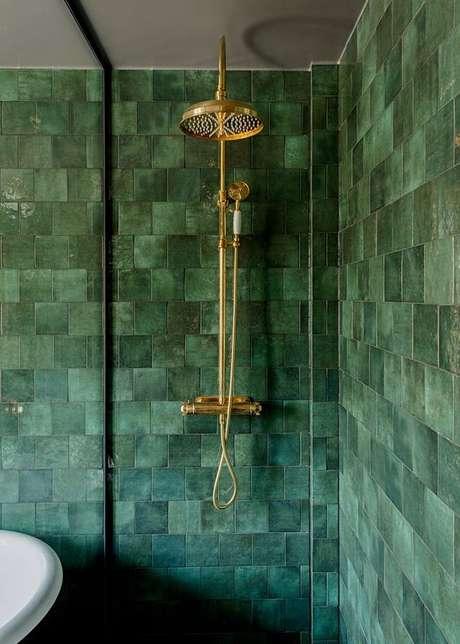38. Revestimento verde água – Foto Casa de Valentina