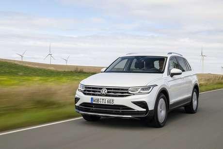 Novo Tiguan eHybrid: SUV com potência combinada de 245 cv é uma forte opção da Volkswagen.