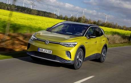 Volkswagen ID.4: o inédito SUV totalmente elétrico da marca alemã nos EUA e no Brasil.