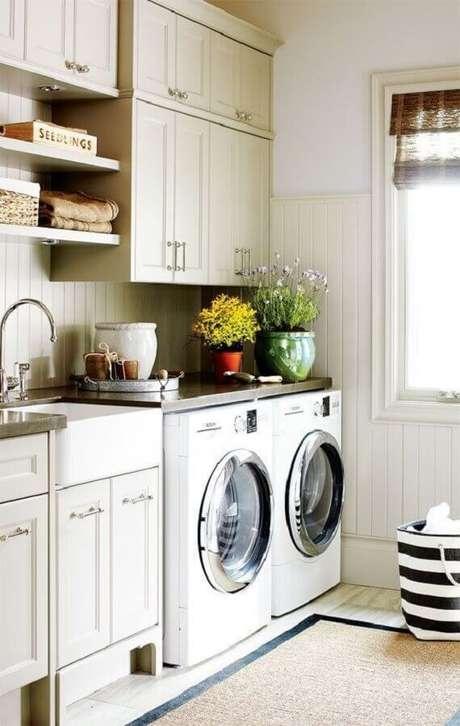 32. Decoração com lavanderia planejada – Foto Casa e Decor