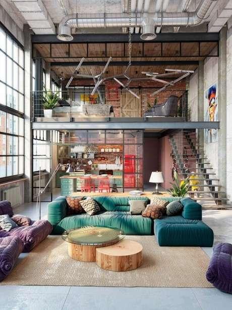 1. Com a cama mezanino é possível organizar melhor seu cômodo e até pensar em novas perspectivas decorativas. Fonte: Pinterest