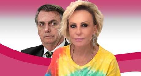 Ana Maria Braga é a apresentadora de entretenimento que mais critica Bolsonaro na Globo