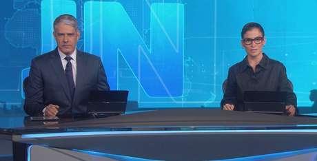 William Bonner e Renata Vasconcellos questionaram o teor do discurso de Bolsonaro