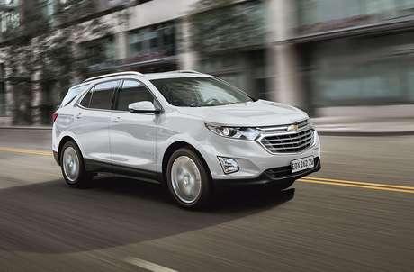 Chevrolet Equinox 2021: nova cor e aposta no consumo com boa potência.