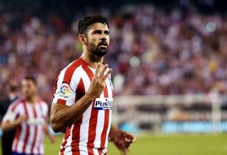Diego Costa está sem clube desde janeiro (Foto: AFP)