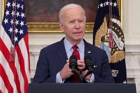 Presidente dos EUA, Joe Biden, na Casa Branca 23/03/2021 REUTERS/Jonathan Ernst