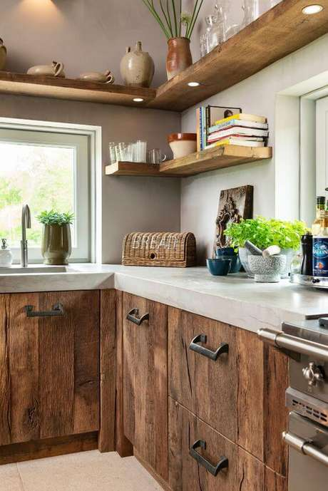 46. Cozinha com mão francesa invisivel – Foto Restylex