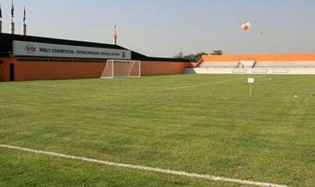 Estádio Laranjão será palco do confronto entre Jaraguá e Manaus (Divulgação/Buda Mendes)