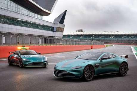 Aston Martin Vantage F1 Edition e o safety car: série especial para marcar entrada na Fórmula 1.