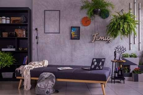 6. As plantas trazem uma cara nova à sua sala gastando zero ou pouco dinheiro. Fonte: Mobly