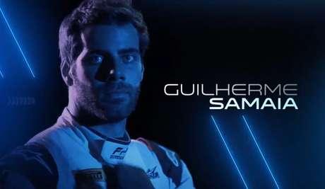 Guilherme Samaia é um dos pilotos que aparece na vinheta da F2 para 2021