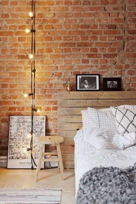 27. Papel de parede rustico para quarto – Foto Styling Anna Mård; Ulkner