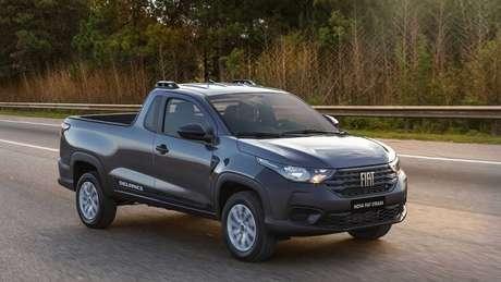 Fiat Strada 2021 seminova chega a custar até 3,51% a mais do que equivalente zero km.