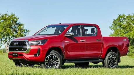 Toyota Hilux 2021 seminova pode custar até 2,58% a mais do que equivalente zero km na versão SRV.
