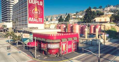 Bar da Brahma no Cidade Alta