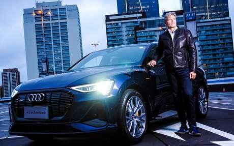 """Johannes Roscheck, presidente da Audi do Brasil: """"Os meses de janeiro e fevereiro foram os melhores para nós. Pode ser que não seja um ano tão ruim""""."""