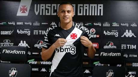 Léo Jabá já foi apresentado em São Januário (Foto: Rafael Ribeiro/CRVG)